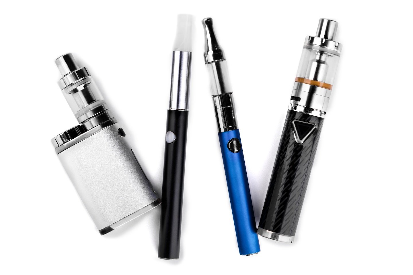 modern electronic cigarettes or vaping devices